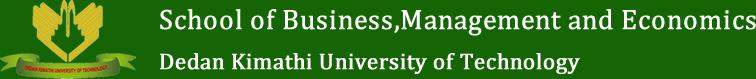 School of Business,Management and Economics