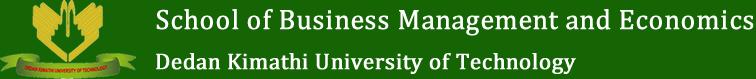 School of Business Management and Economics